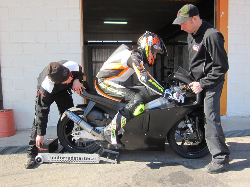 Motorradstarter.de sponsoring 2012