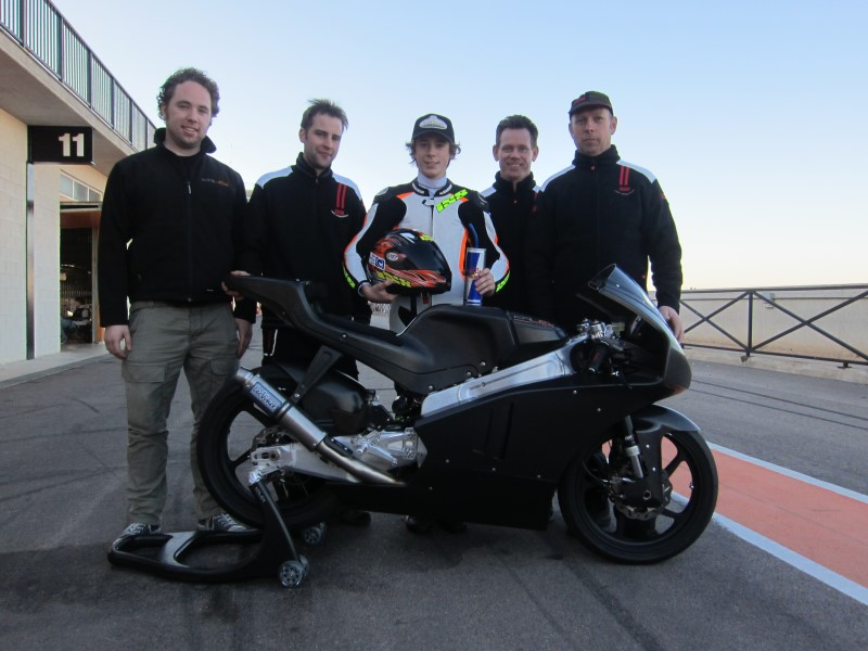 Philipp Öttl and his Team